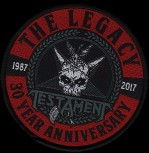 "Testament ""The Legacy 30 Year"" Patch"